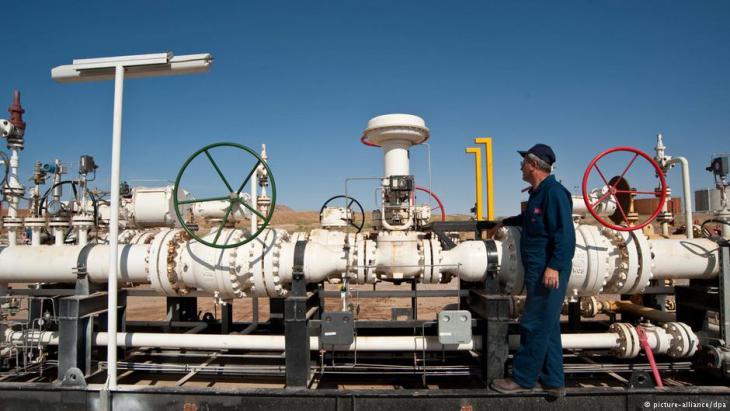 Das Takwe Ölfeld im irakischen Teils Kurdistan beliefert die Türkei. Foto: picture-alliance/dpa