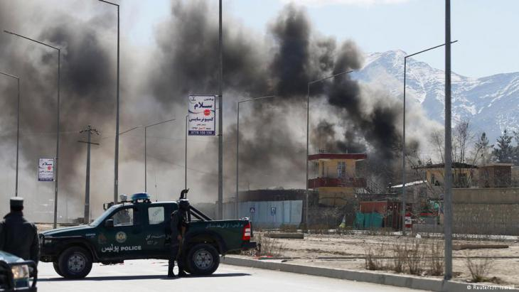 Afghanistan Anschlag in Kabul 1.3.2017 Foto: Reuters/Mohammed Ismail