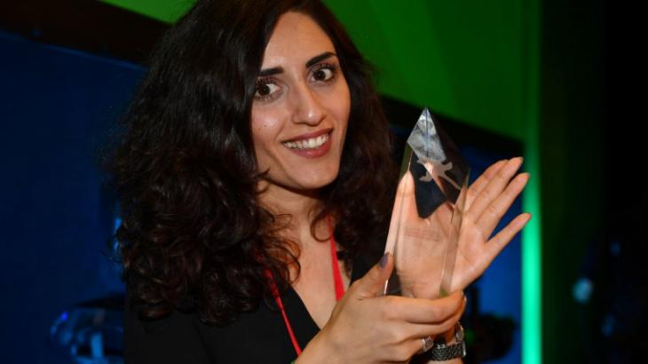 Deutsch-kurdische Regisseurin Soleen Yusef. Foto: Arte