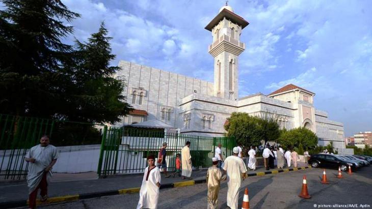 Die große Moschee in Madrid. Foto: Picture Alliance