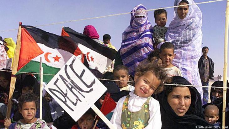 Westsahrauisches Flüchtlingscamp Smara; Foto: Getty Images/AFP