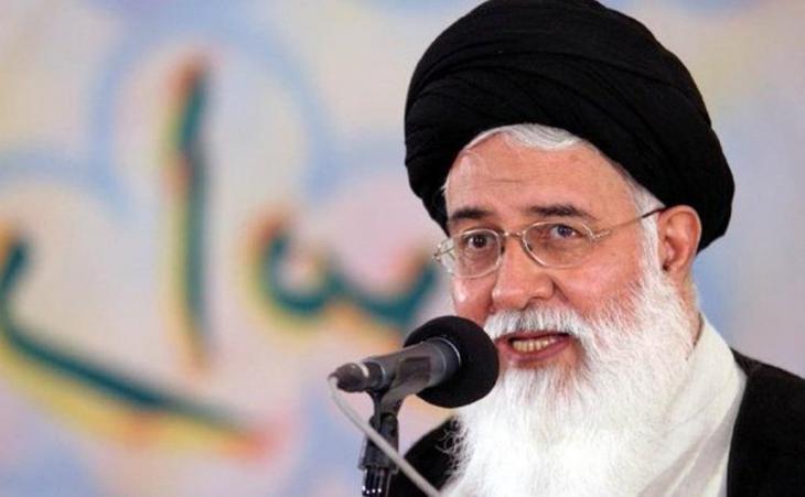 Ayatollah Ahmad Alamolhoda; Quelle: Twitter