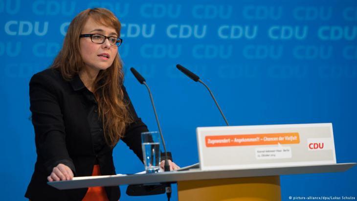 Cemile Giousouf, Bundestagsabgeordnete der CDU; Foto: picture-alliance/dpa