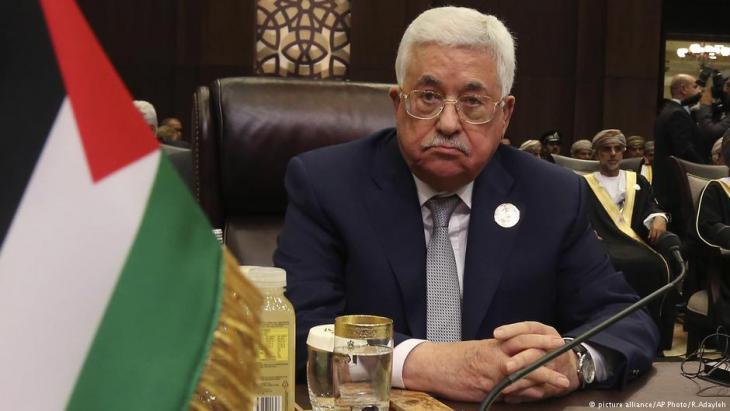 Palästinenserpräsident Mahmud Abbas; Foto: picture-alliance/AP