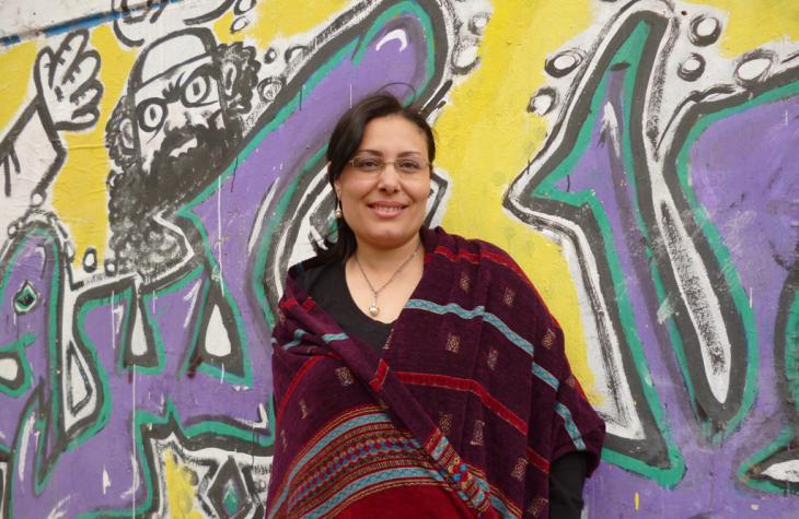 Die ägyptische Autorin Mansura Eseddin; Foto: Arian Fariborz