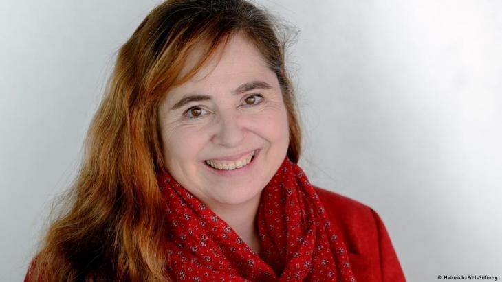 Bettina Marx, Leiterin der Heinrich-Böll-Stiftung in Ramallah; Quelle: Heinrich-Böll-Stiftung