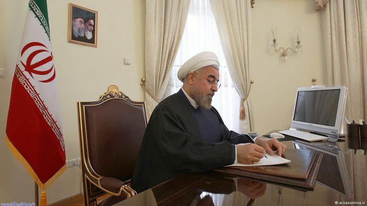 Irans Präsident Hassan Rohani; Foto: mizanonline.ir