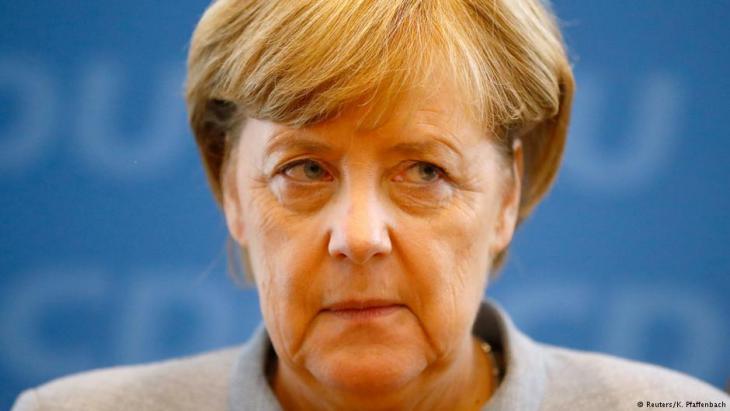 Bundeskanzlerin Merkel; Foto: Reuters