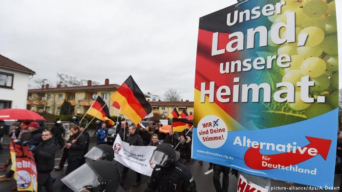 Afd-Anhänger; Foto: dpa/picture-alliance