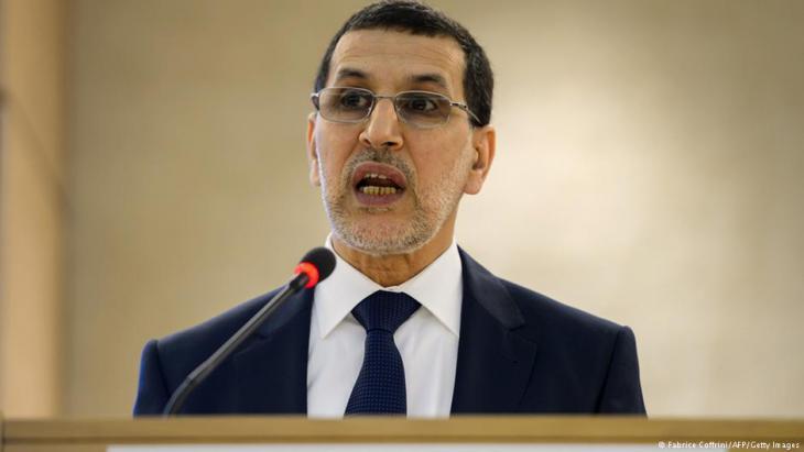 Marokkos Premierminister Saadeddine Othmani; Foto: AFP/Getty Images