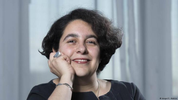 Die iranische Autorin Mehrnousch Zaeri-Esfahani; Foto: imago