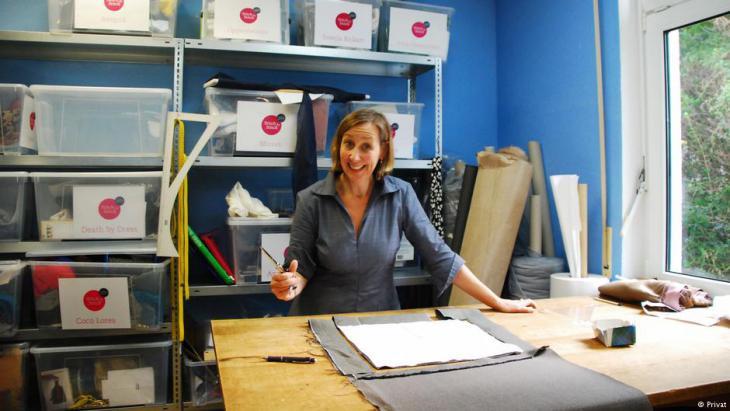 Diplom-Designerin und Sozialunternehmerin Nicole von Alvensleben; Foto: Nicole von Alvensleben