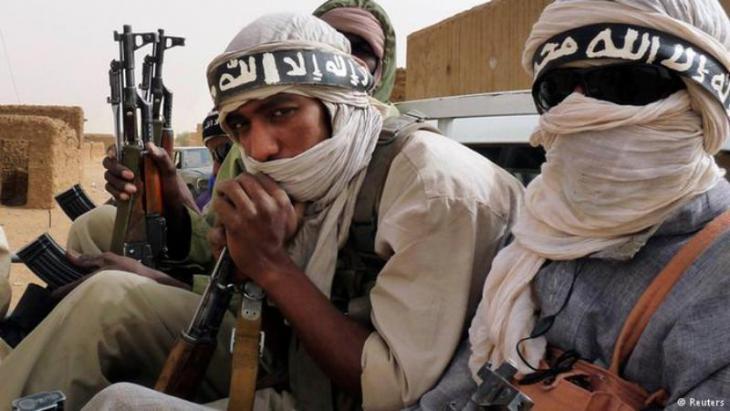 Mitglieder der Islamistengruppe Ansar Dine in Timbuktu; Foto: Reuters