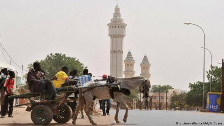 Die Große Moschee in Touba, Senegal; Foto: picture-alliance/AA/A. Gueye