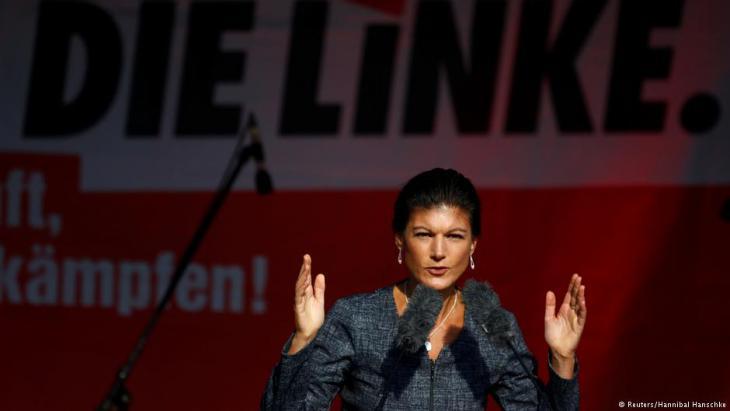 Sahra Wagenknecht; Quelle: Reuters