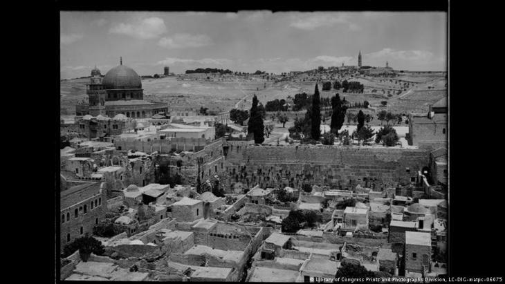 Schatten über der heiligen Stadt: Exponat der Ausstellung Welcome to Jerusalem
