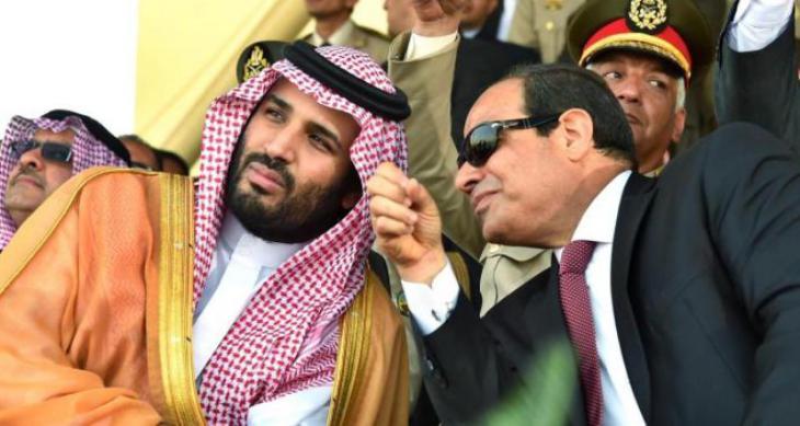 Kronprinz Mohammed bin Salman auf Staatsbesuch bei Ägyptens Präsident Abdel Fattah al-Sisi; Foto: dpa