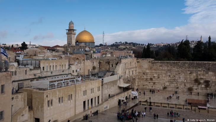 Jerusalem - Blick auf Felsendom und Klagemauer; Foto: Getty Images