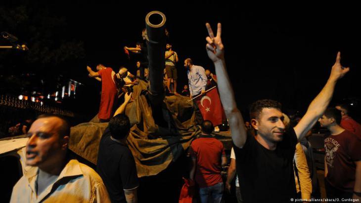 Gescheiterter Putschversuch in der Türkei am vom 15. Juli 2016; Foto: picture-alliance/abaca