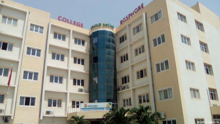 Die Yavuz Selim Schule der Gülen-Bewegung in Dakar; Foto: DW/M. Lamine Ba