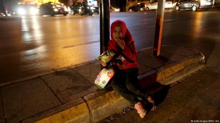 Flüchtlingsmädchen in Beirut, Libanon; Foto: Getty Images/AFP