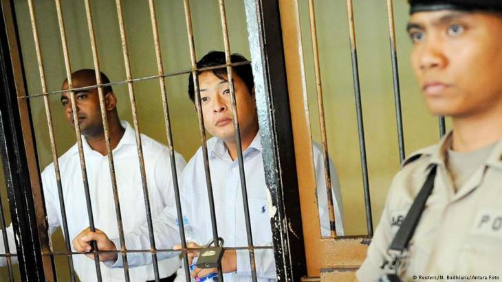 Todesstrafe für zwei Australier in Indonesien; Foto: Reuters/N. Budhiana/Antara