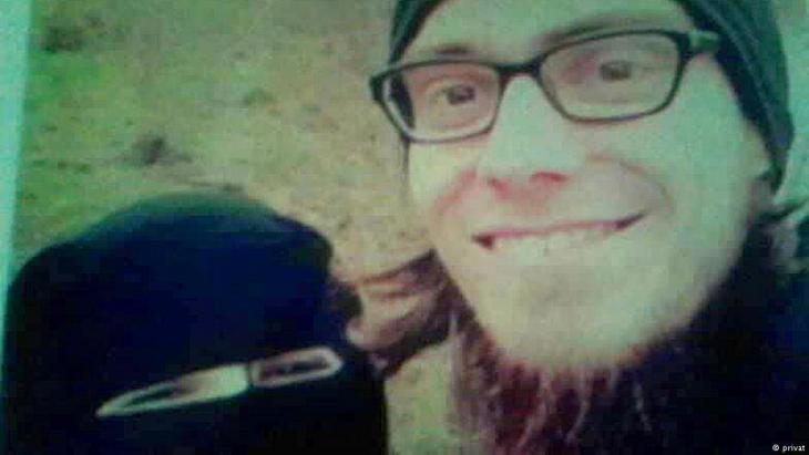 IS-Terrorist Lappe mit seiner ehemaligen Frau Yasmina; Foto: privat