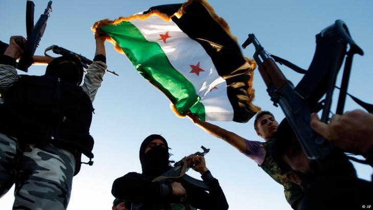 Rebellen der FSA in Idlib; Foto: AP