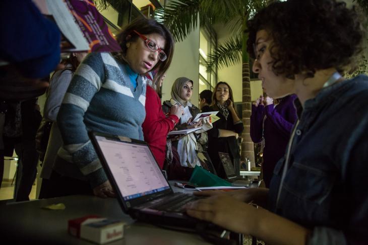 Das Wiki-Gender wurde im Dezember 2016 gelauncht; Foto: Goethe-Institut Kairo/Roger Anis