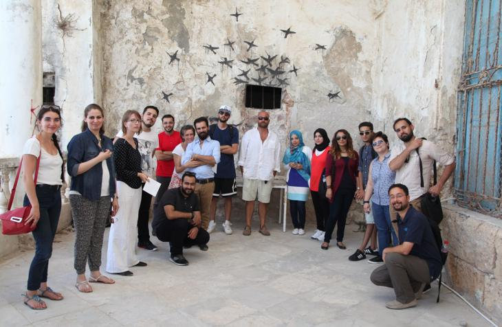 Kulturakademie Libyen: Training in Tunis; Foto: Goethe-Institut Tunis/Haithem Boumesouir