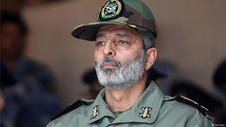 Irans Armeechef Abdolrahim Mussawi; Foto: Farsnews