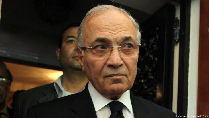 er frühere ägyptische Ministerpräsident Ahmed Shafiq; Foto: dpa/picture-alliance