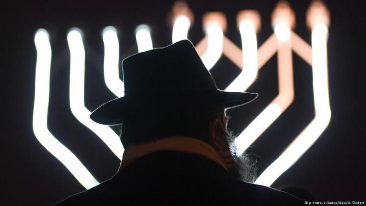 Symbolbild Antisemitismus; Foto: picture-alliance/dpa