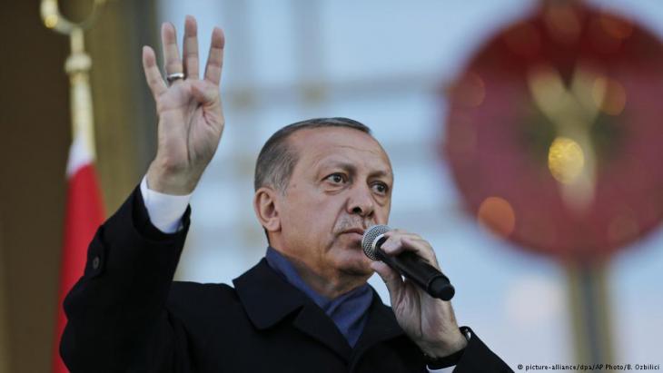 Recep Tayyip Erdoğan; Foto: picture-alliance/dpa/AP