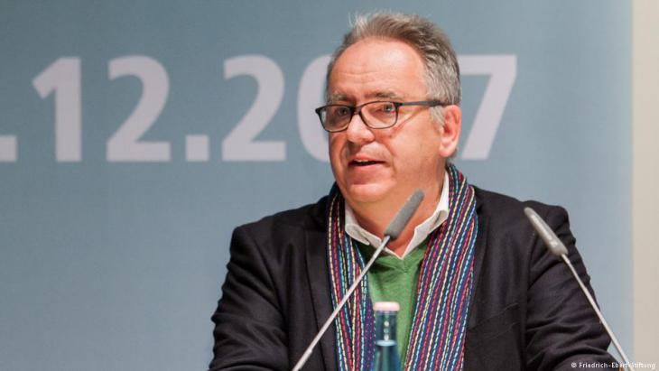 Prof. Dr. Jörg Gertel von der Universität Leipzig; Foto: Friedrich-Ebert-Stiftung