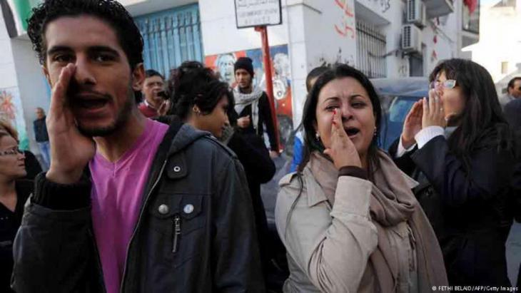 Proteste gegen Korruption und Vetternwirtschaft im Bildungsbereich; Foto: AFP/Getty Images