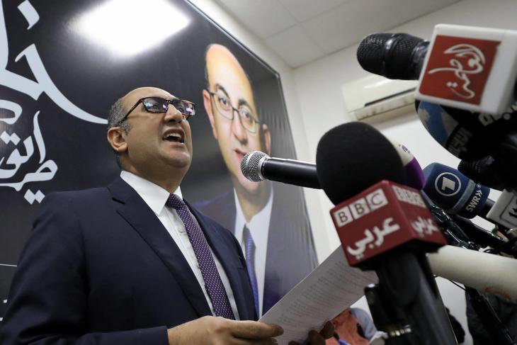 Khaled Ali ist einer der bekanntesten Menschenrechtsanwälte Ägyptens; Foto: MOHAMED ABD EL GHANY/REUTERS