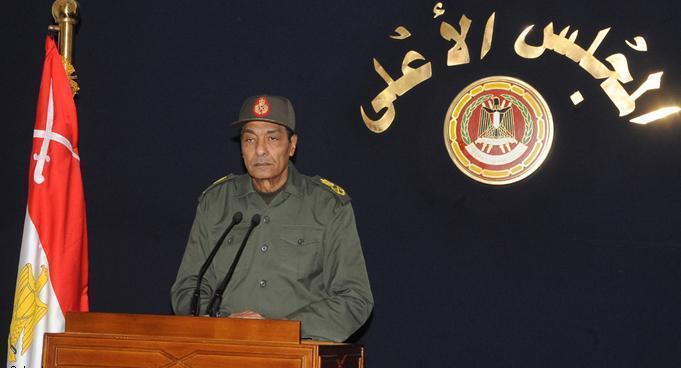 Ägyptens Feldmarschall Mohamed Hussein Tantawi, Führer des Obersten Rates der Streitkräfte (SCAF); Foto: AP