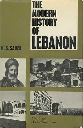 "Buchcover Kamal Salibi: ""The Modern History of Lebanon"" im Verlag Weidenfeld & Nicolson"