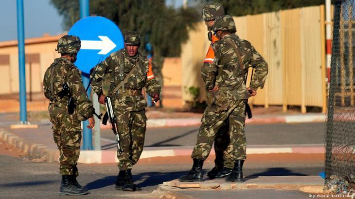 Algerische Sicherheitskräfte; Foto: picture-alliance/landov