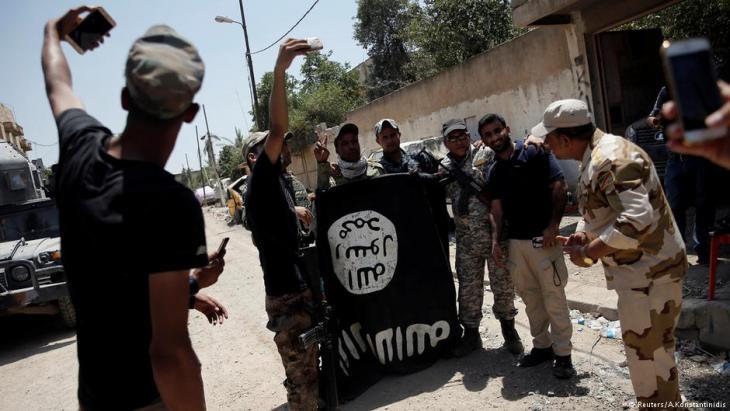 """Rückeroberung Mossuls vom """"Islamischen Staat""""; Foto: Reuters"""