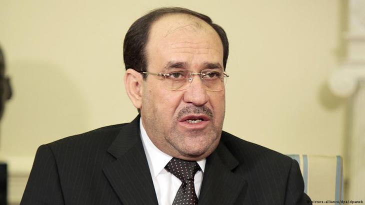 Der frühere irakische Ministerpräsident Nuri al-Maliki; Foto: dpa/picture-alliance