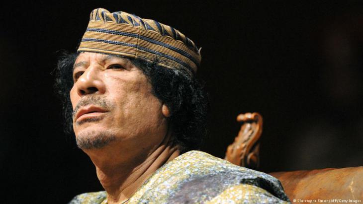 Libyens ehemaliger Diktator Muammar al-Gaddafi; Foto: CHRISTOPHE SIMON/AFP/Getty Images