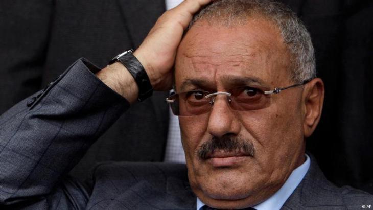 Jemens früherer Präsident Ali Abdullah Salih; Foto: AP