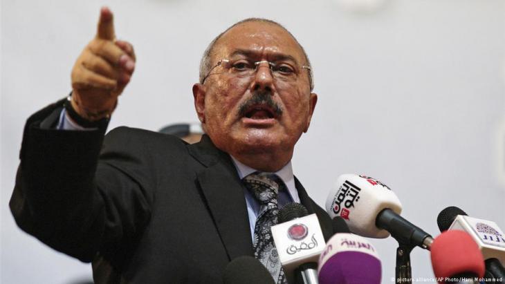 Jemens Langzeitdiktator Ali Abdullah Salih; Foto:picture-alliance/AP