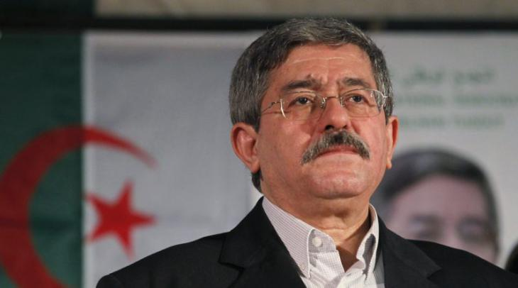 """Ahmed Ouyahia, Premierminister und Vorsitzender der Regierungspartei """"Rassemblement National Démocratique"""" (RND); Foto: Reuters"""