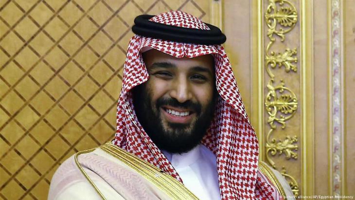 Saudischer Kronprinz Mohammed bin Salman; Foto: picture-alliance/AP
