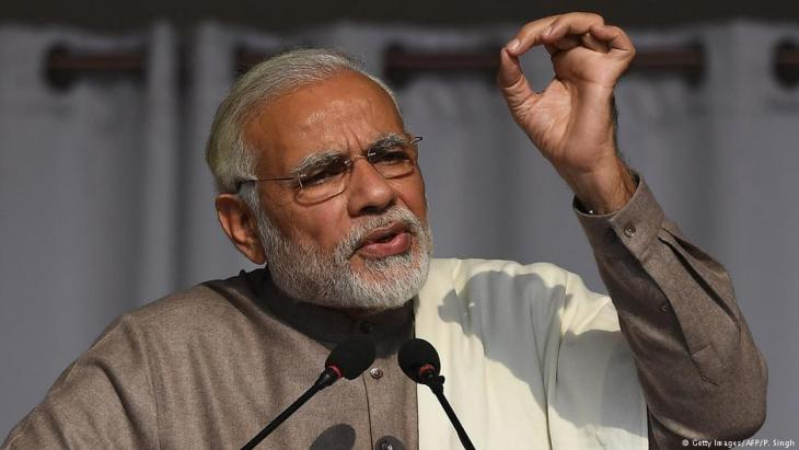 Indiens Premierminister Narendra Modi; Foto: AFP/Getty Images