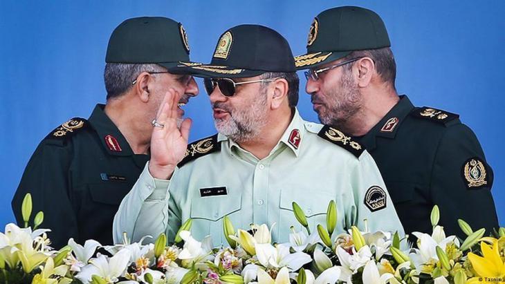 Vertreter der Sepah Pasdaran (Revolutionsgarden) in Teheran; Foto: Tasnim