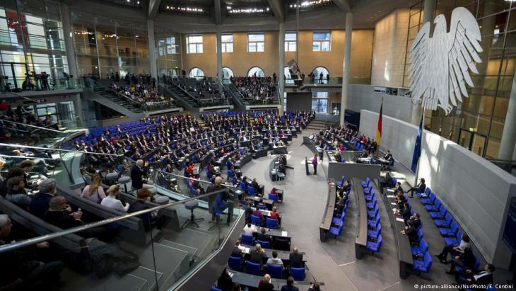 Plenarsitzung im Deutschen Bundestag; Foto: picture-alliance